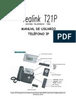 Manual Yealink T21 (4) (1)(2)