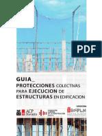 GUIA PROTECCIONES COLECTIVAS PARA ELECUCION DE ESTRUCTURAS EN EDIFICACION
