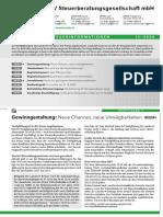 LHV Steuerinformation Landwirtschaft Q3-2020