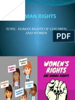 HUMAN RIGHTS OF WOMEN AND CHILDREN.pptx