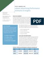 Facebook Advertising Performance