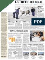 Wallstreetjournal 20161228 the Wall Street Journal