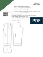 Pants sewing pattern