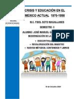 Jose Manuel Gonzalez Valdez.Grupo 2. Conclusión