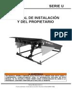 Rampa Mecánica - Manual de Usuario U