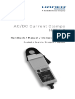 HAMEG AC-DC Current Clamps HZ56-2