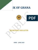 Second Quarter Bulletin 2020-Q2