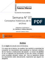 10072567_Archiv I Clase 07 - Conceptos históricos de lo que es el archico