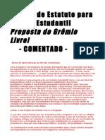 Modelo de Estatuto COMENTADO