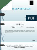 3.- Tipo de Vehículos