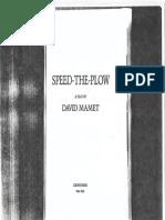 Mamet, David - Speed the Plow