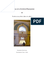 The Trials of a Common Pleas Judge -- All Released Chapters 10.14.20