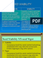 Seed Viability and Seed testing
