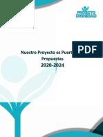 Propuestas Partido Proyecto Dignidad