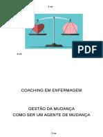 APOSTILA COACHING EM ENFERMAGEM, LIDERANÇA EM ENFERMAGEM.