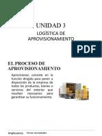 UNIDAD 3 LOGÍSTICA DE APROVISIONAMIENTO