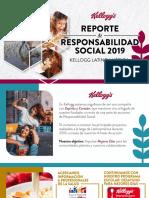 Reporte Responsabilidad Social 2019 KELLOGG'S