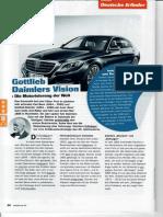 Gottlieb Daimlers Vision