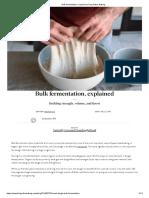 Bulk fermentation, explained _ King Arthur Baking