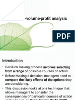 SMA - Chapter Seven - Cost-Volume-Profit Analysis(1)