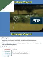histologia e organologia vegetal