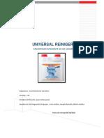 informe detergentes industriales manttenimiento mecanico EV2