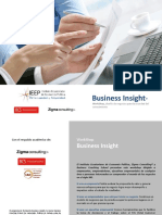 Folleto informativo Business Insight 2015