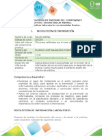 Guía para entrega de informe del componente práctico.- Realizar laboratorio con simulador Bovino