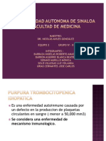 Purpura Trombocitopenica Idiopatica expo