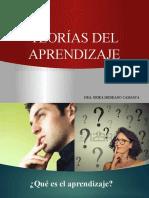 TEORIAS DEL APRENDIZAJE PREGRADO-Clases 1-