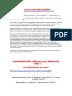 Espondilodiscitis en la comunidad de Madrid