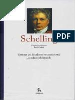 Gabas, Raul - Estudio introductorio al vol. Schelling de la colección Grandes Pensadores de Gredos
