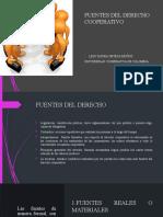 FUENTES DEL DERECHO COOPERATIVO