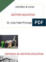 ENFOQUE DE GESTION EDUCATIVA