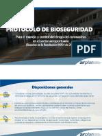 Protocolos Bioseguridad Aeropuerto EOH