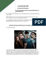 10 texto saga CREPÚSCULO