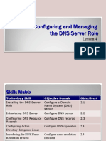 lesson04 - Config and Manage DNS Server Role