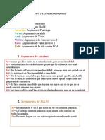GLOSARIO ARGUMENTOS PARTE 1 DE LA EXPOSICION