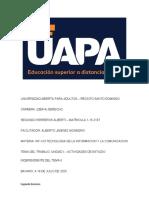 UNIDAD II ACTIVIDADES INDEPENDIENTES DE LA UNIDAD II