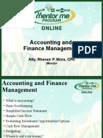 KAMMP Seminar - Accounting