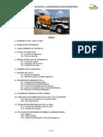 Manual de Uso y Mantenimiento Olla Revolvedora con camion FREIGHTLINER TTOOCAPFM