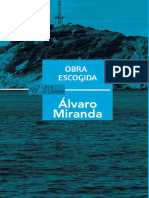 Alvaro Miranda. Obra escogia