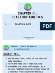 11.1 Reaction Rate 2