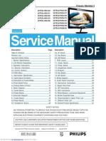 Service manual Philips 227E