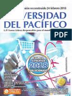 UNIVERSIDAD DEL PACIFICO 2018