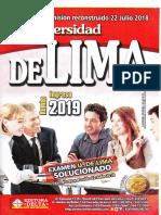 UNIVERSIDAD DE LIMA ADM. 2019