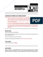 ACTIVITY 1.3 - THINK LIKE AN AUDITOR