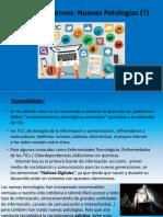 Tiempos modernos, nuevas patologias Dra. Peronace Geraldine