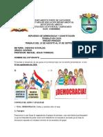 ACTIVIDAD DE REFUERZO DEMOCRACIA GRADO 9