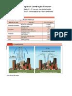 Geografia - Capítulo 27 Urbanização e o meio ambiente